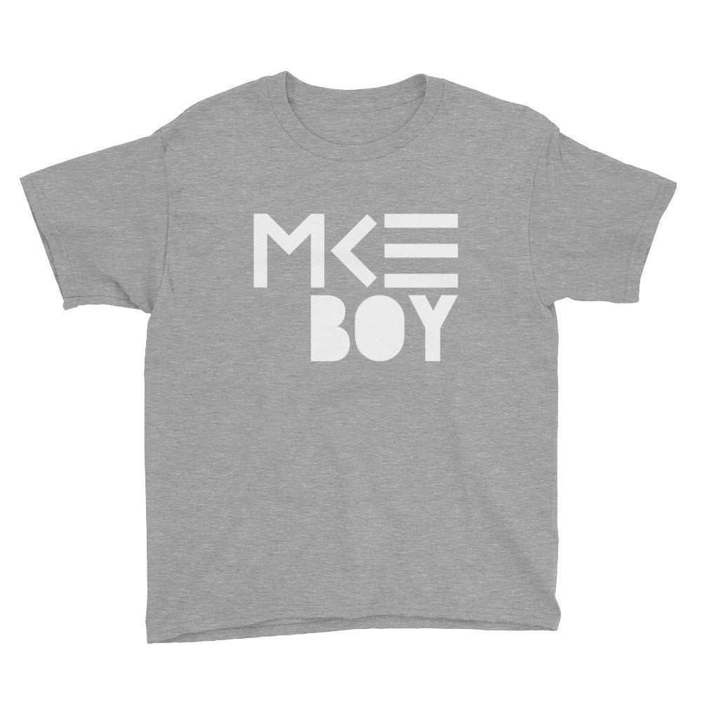 Youth MKE Boy T-shirt in Gray by MKE Outfitters