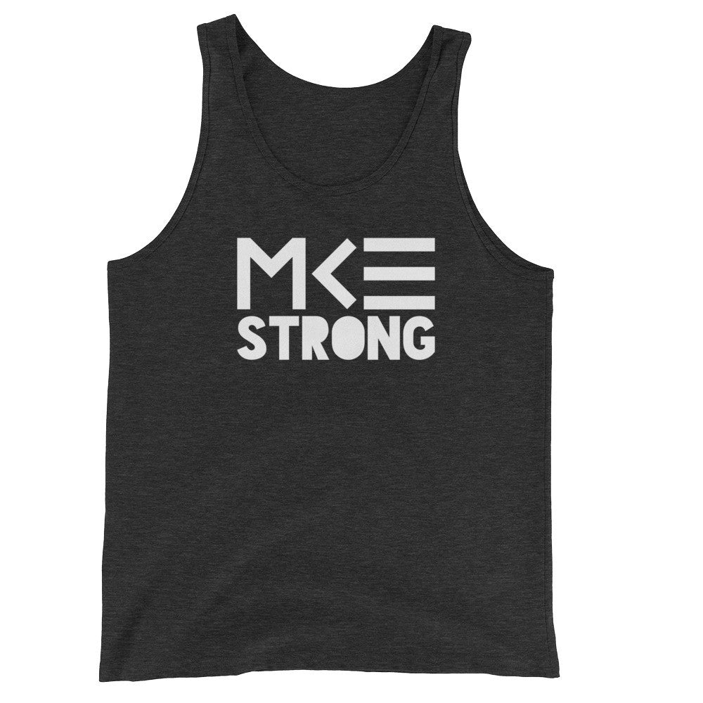 Milwaukee Tank Top, Strong Collection, in charcoal