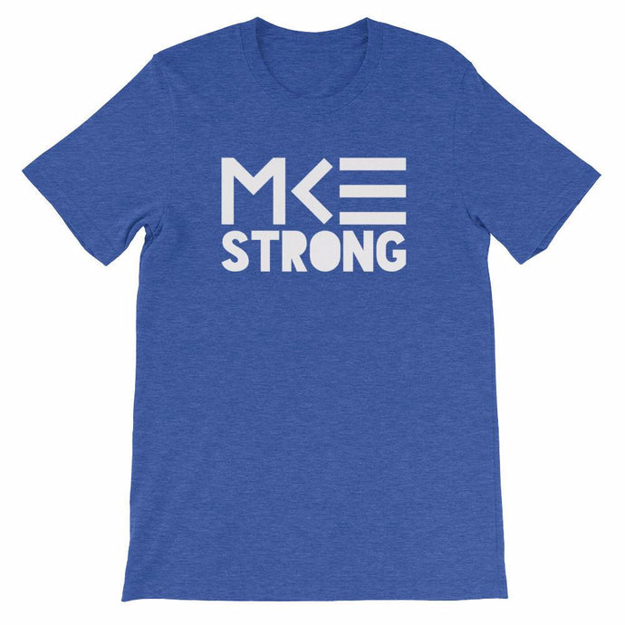 Blue MKE Strong tee by MKE Outfitters