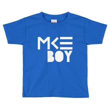 MKE Outfitters blue MKE Boy T-shirt for toddlers
