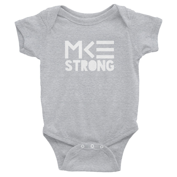 MKE Strong baby onesie by MKE Outfitters