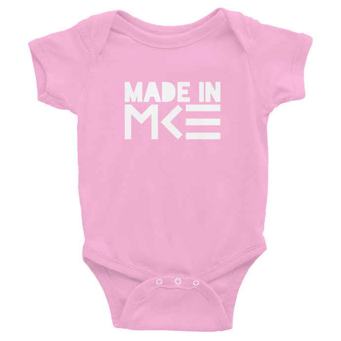 Made in MKE Pink Onesie by MKE Outfitters