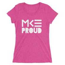 Pink MKE Proud ladies t-shirt by MKE Outfitters