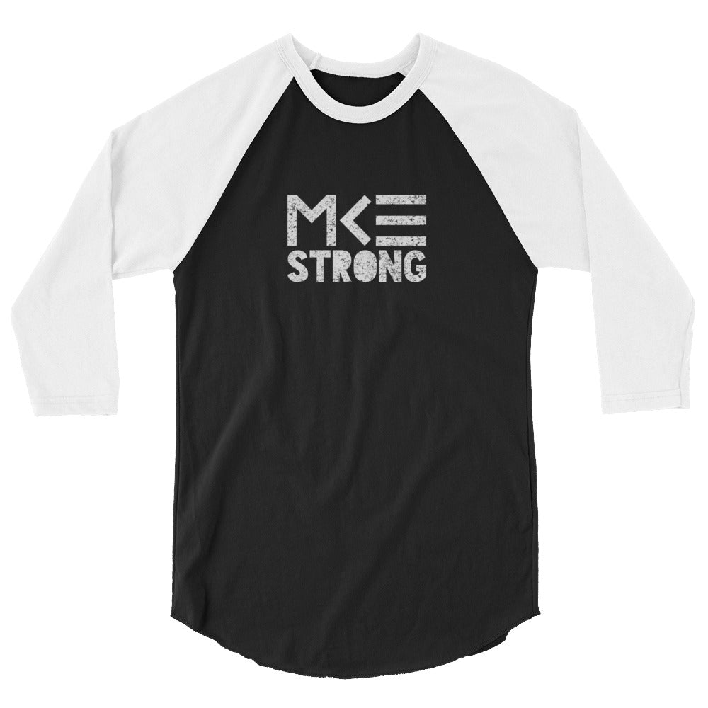 STRONG 3/4 sleeve raglan shirt