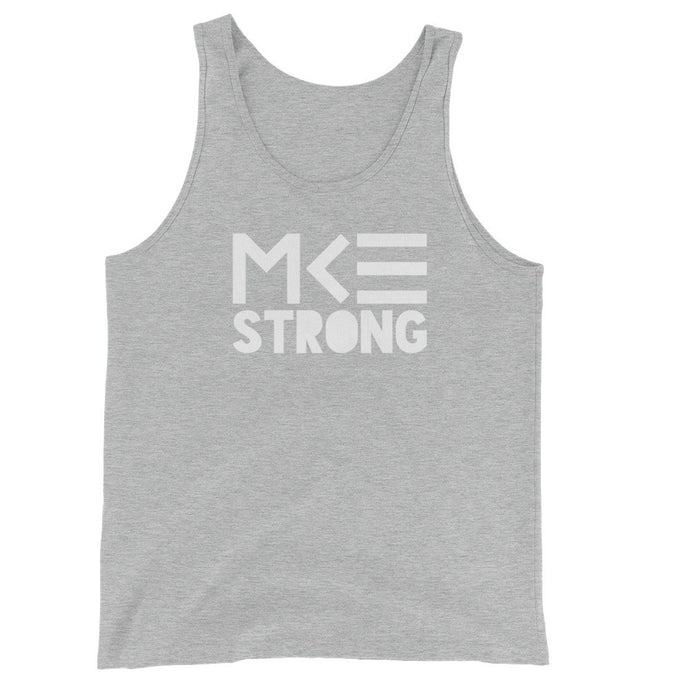 MKE Strong Unisex Tank in Gray by MKE Outfitters