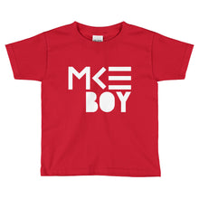 Milwaukee Boy T-shirt for toddlers in Red by MKE Outfitters