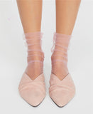 Ankle High Mesh Socks