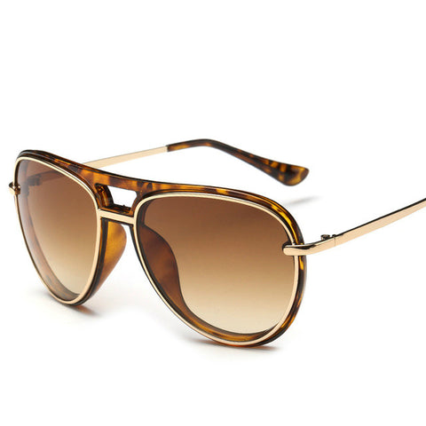 Ultra Chic Fashion Aviator - Leopard Frame