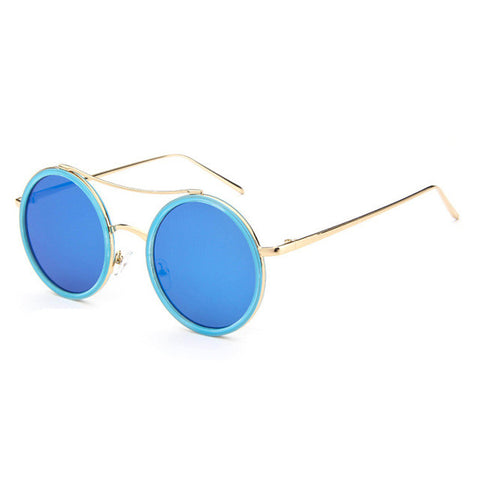 Vintage Big Round Sunglasses Mirror