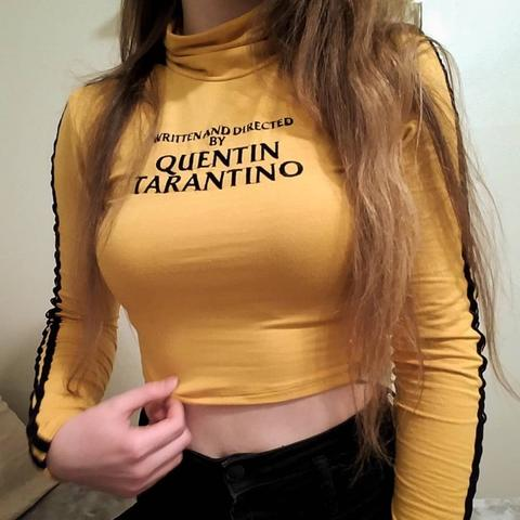 QUENTIN TARANTINO Yellow Long Sleeve