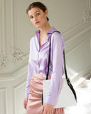Silk Purple Blouse