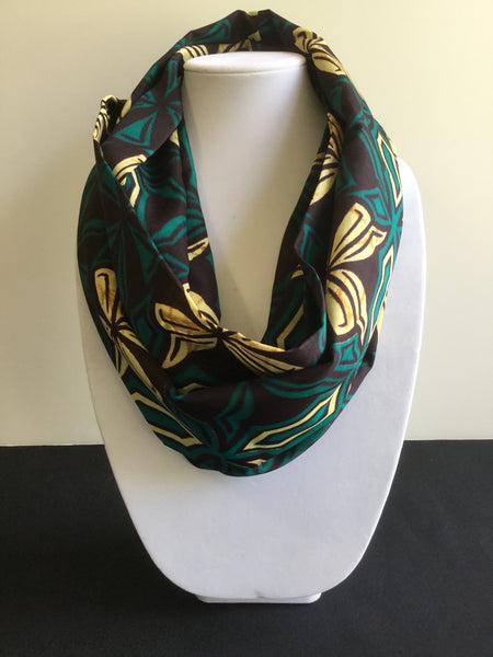 Green Butterfly African Print