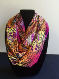 Ethnic Bright Animal Print Infinity