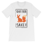 """Oh! For Fox Sake!"" Short-Sleeve Graphic Tee"