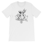 """Malasorte, Cupid Reborn"" Cursed Short-Sleeve Graphic Tee - Ravik Apparel"