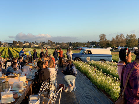 We loved being apart of the San Diego Flower Fields in lovely Southern California. It was great providing our top notch vintage mobile bar truck. We were pouring craft beer and prosecco.