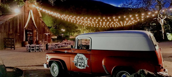 tap truck is perfect at rustic weddings or barn weddings where a mobile bar is needed for a spot on experience. even better then a trailer bar!  tap truck utah, tap truck wyoming, beer truck maryland.