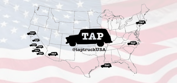 Tap Truck america covering our map! it cant keep up with our rapid beer truck expansion. learn more about beer trucks and mobile bar consulting