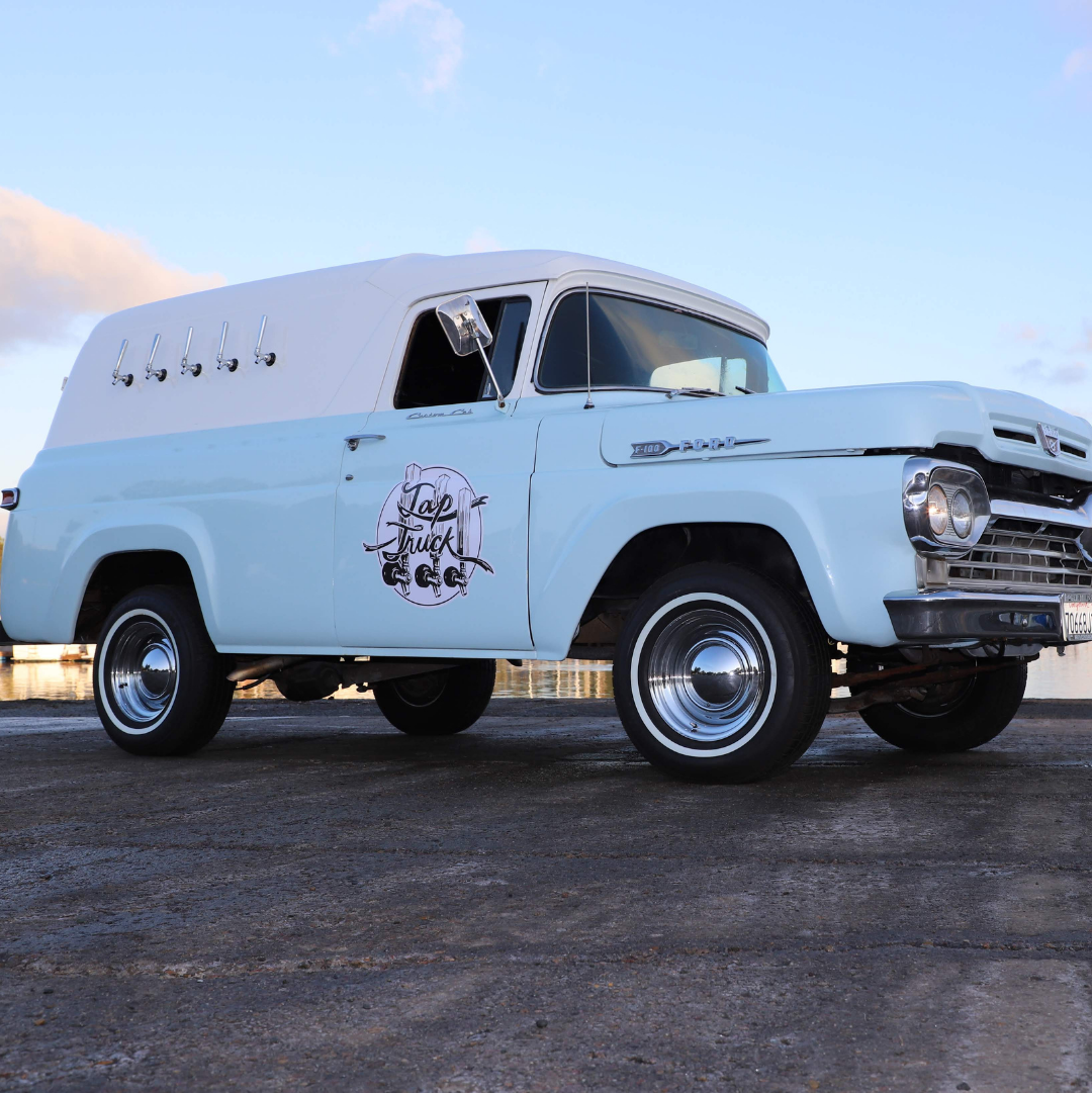With a 1951 Chevy panel truck, they have served at Microsoft and for Seahawks games! Serving Everett, Tacoma, Kent, and Olympia.