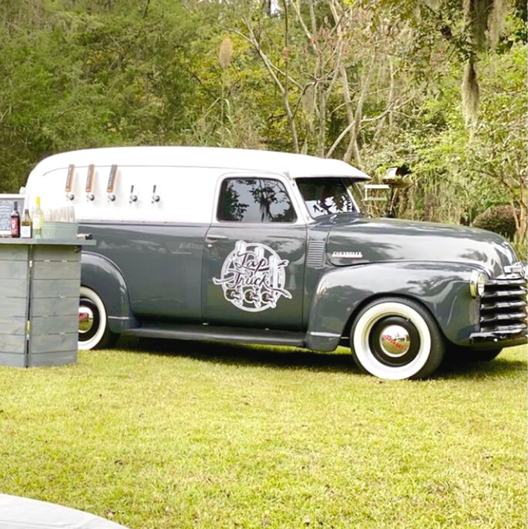 This fully hand crafted custom mobile bar services all of Savannah, GA.  Check them out today!