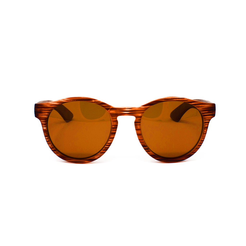 Jackie Sunnies Striped Brown