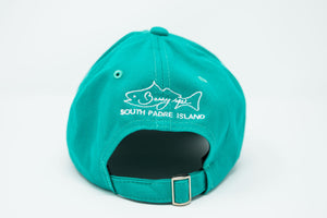 Sea Turtle Teal Dad Hat