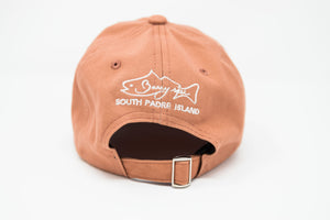 Sea Turtle Salmon Dad Hat