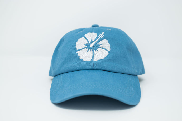 Hibiscus Sky Dad Hat