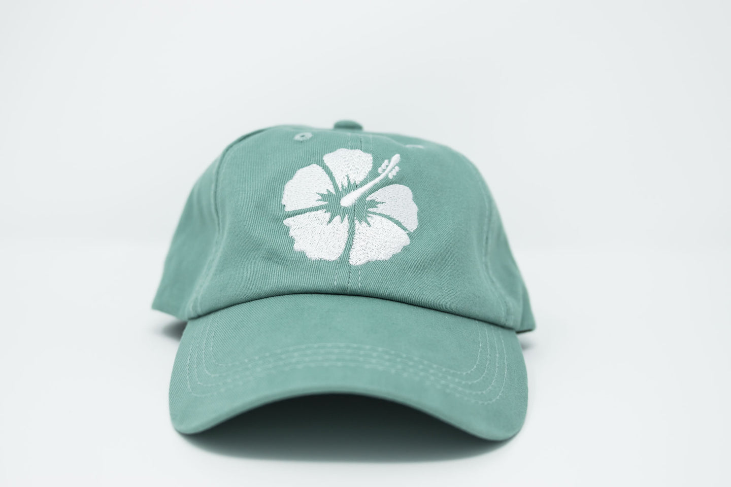 Hibiscus Sea Foam Dad Hat