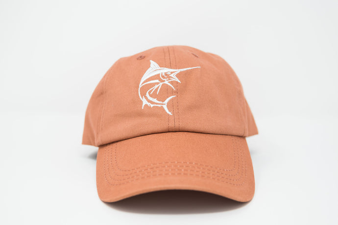 Marlin Salmon Dad Hat