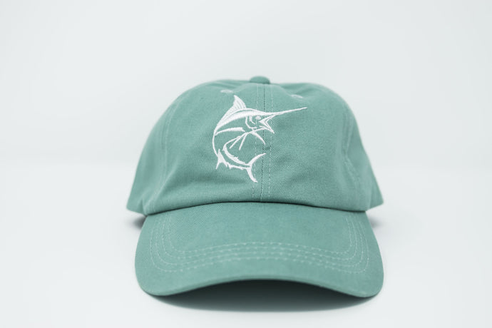Marlin Sea Foam Dad Hat