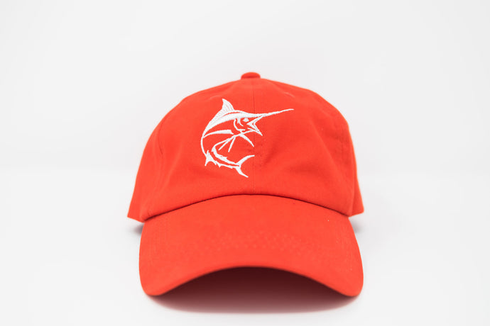 Marlin Tangerine Dad Hat