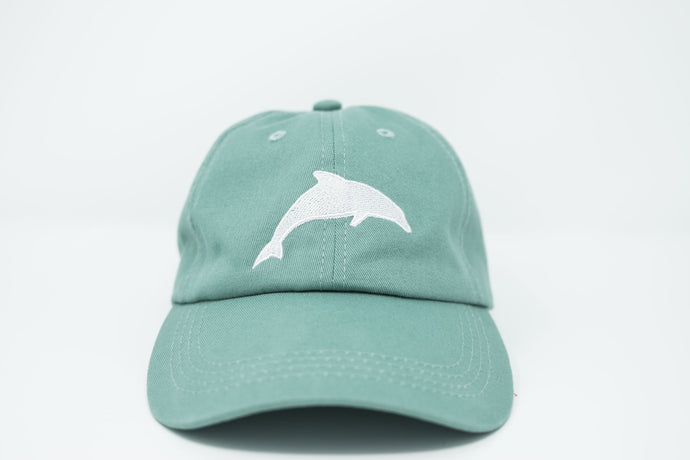 Dolphin Sea Foam Dad Hat