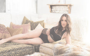 Brie Bella showing off in the Bee Fearless Intimates