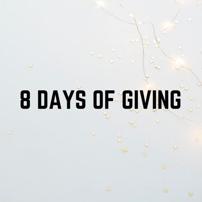 8 Days Of Giving Holiday Giveaway