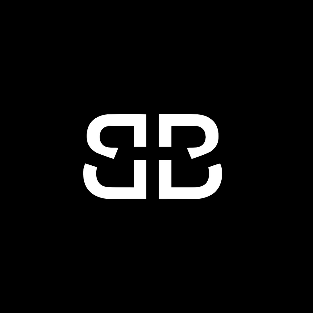 BIRDIEBEE double B logo black and white