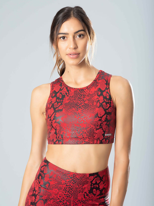 Viper High Neck Sports Bra