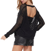 Netted Sweater