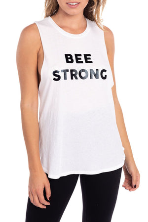 Bee Strong Power Tank