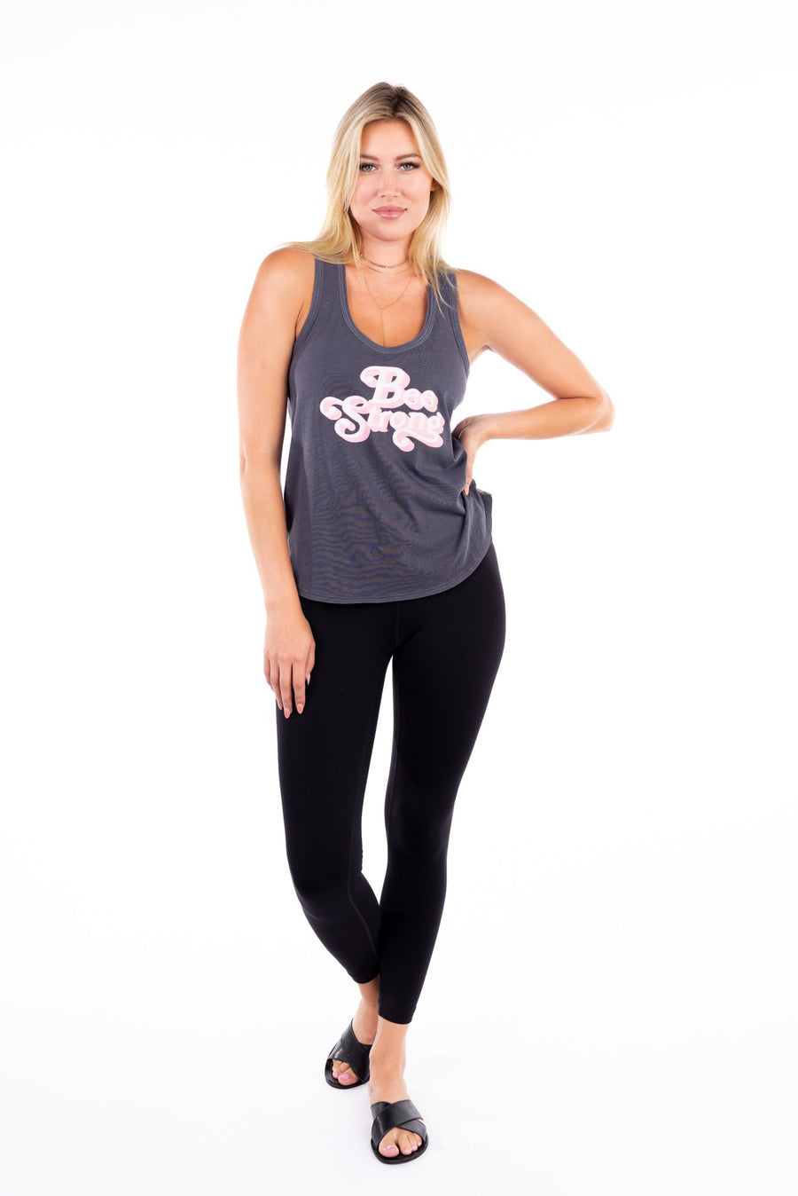 Bee Strong Fearless Tank