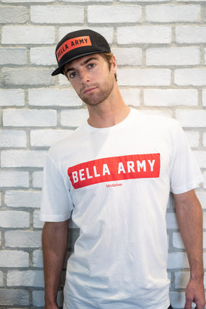 Bella Army Men's Crew Neck