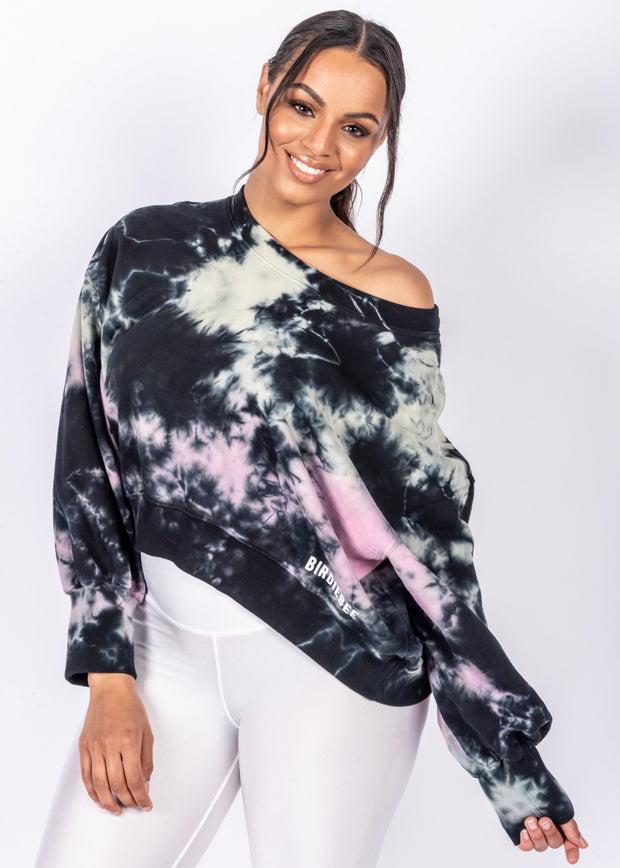 Good Vibes High Low Sweatshirt