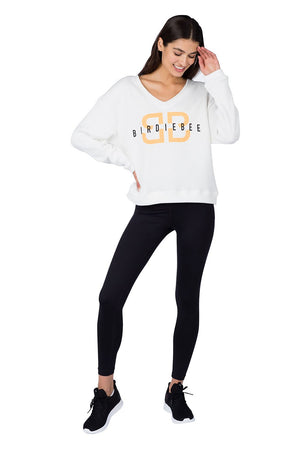 HOT SHOT V-NECK NEON SWEATSHIRT