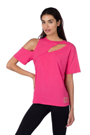 Cold Shoulder Cut Out Tee