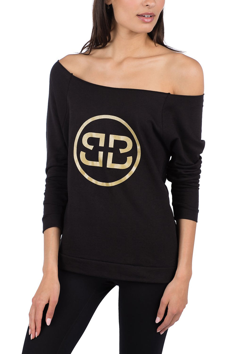 GOLDEN DOUBLE B 3/4 RAGLAN SWEATSHIRT