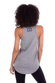 Too Glam To Give a Damn Long Racerback Tank