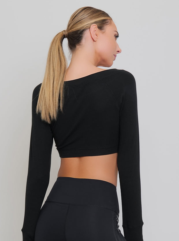 Vixen Crop Long Sleeve