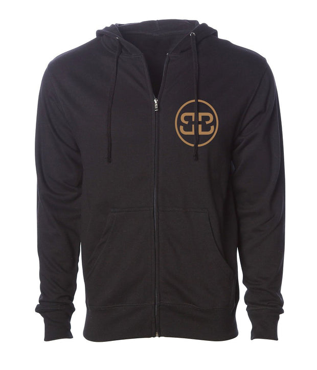 Gold Double B Chill Zip Hoodie