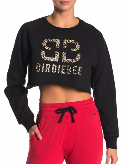 Icon Cropped Fleece Pullover