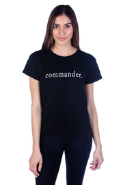 Commander Girlfriend Tee